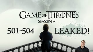 Game of Thrones Season 5 First 4 Episodes Leaked Online! Alright what's going on guys it's Trev back again here to bring you another video. In this one I wil...