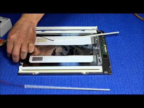 LQ10D341, How to Insatll LED Backlight