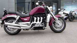 4. Triumph Rocket III (3) 2009 with accessory silencers