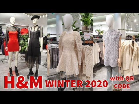 H&M NEW WINTER COLLECTION WITH QR CODE   #H&M #WINTER 2020 #FASHION   #H&M #WOMENS COLLECTION
