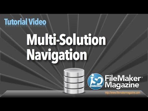 FileMaker Tutorial - Multi-Solution Navigation
