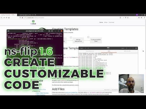 Create Setup Sequence With ns-flip 1.6 Templating010394