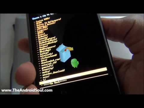 comment installer rom galaxy s