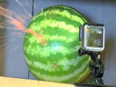 Paintball Gun VS Watermelon w/ Slow-Mo (With Breaker Balls!)