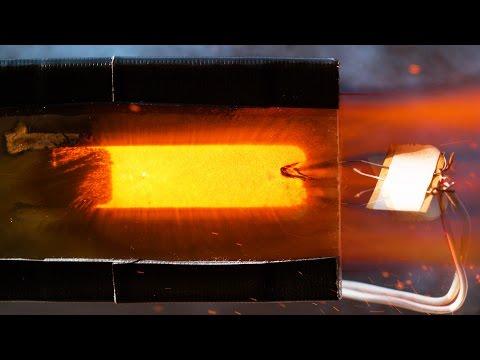 Inside a Burning Rocket Engine