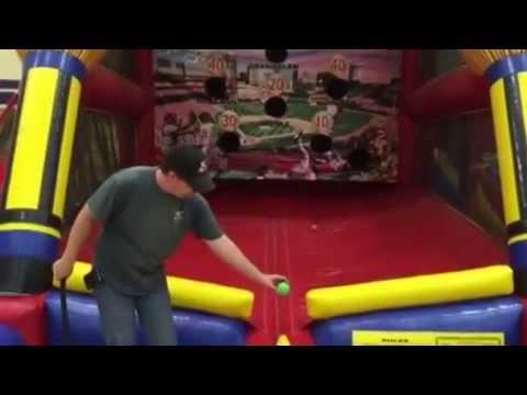 Inflatable Baseball Game Rental Bay Area
