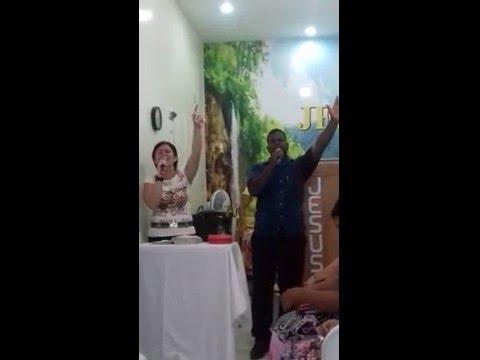 Cantora e Missionária Eveline Silva- Em Vila Rica Jaboatão dos Guararapes