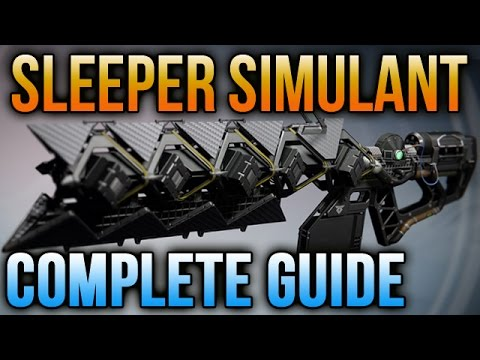 Destiny Sleeper Simulant: How to get the Sleeper Simulant Complete Quest Guide