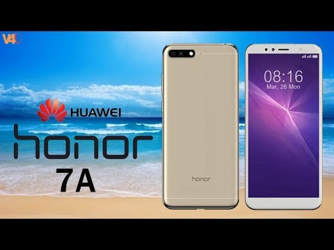 Huawei Honor 7A Official Look, Price, Release Date, Specifications, Camera, Features, First Look