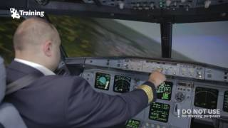 What  to do if one of the engines fail right after V1?  Simulation in A320 Full Flight Simulator