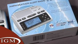 8. Midland WR300 Weather Alert Radio (Review)