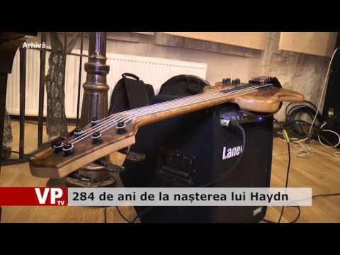 284 de ani de la nașterea lui Haydn