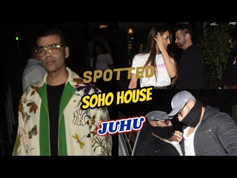 Love Birds Arjun Kapoor & Malaika Arora Spotted Soho House Juhu