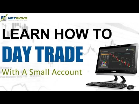 How to Day Trade with a Small Account