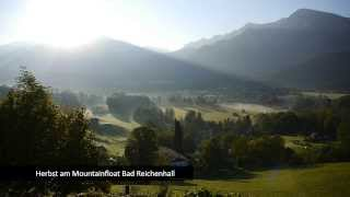 Herbst am Mountainfloat Bad Reichenhall