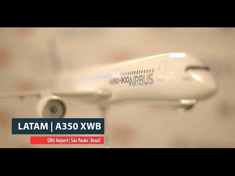 Conheça o novo Airbus A350 XWB da Tam
