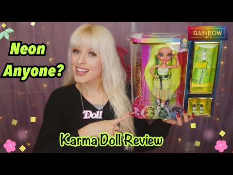 RAINBOW HIGH KARMA NICHOLS So Bright Doll Review!