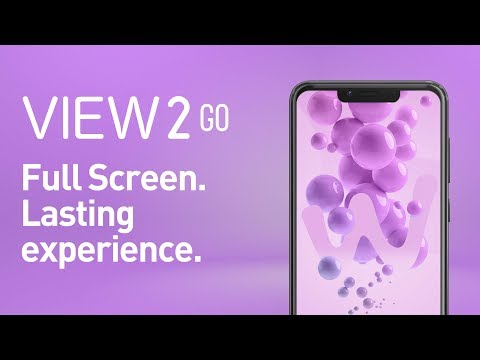 Wiko - View2 Go, Full Screen. Lasting experience.