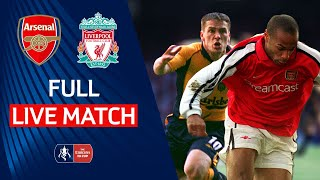 Arsenal v Liverpool | Live Full Match Throwback | FA Cup Final 00/01