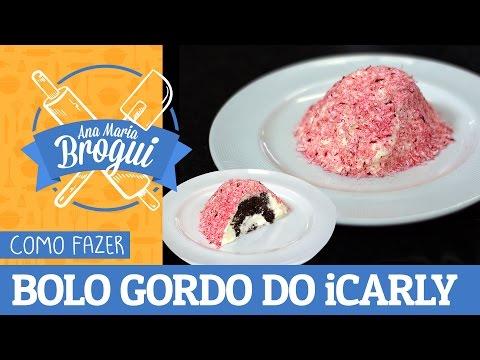 Receitas Doces - COMO FAZER O BOLO GORDO DO ICARLY (SNO BALLS)  Ana Maria Brogui #276
