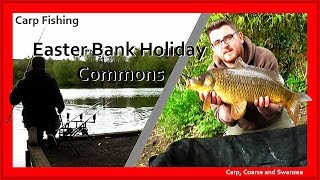 Easter Bank Holiday Commons. Carp, Coarse and Swansea Video 149