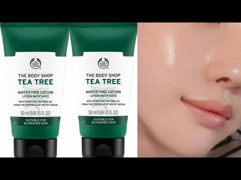 এটি কিনবো নাকি কিনবো না??|The body shop tea tree mattifying lotion review