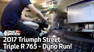 6. 2017 Triumph Street Triple R 765 - Dyno Run!