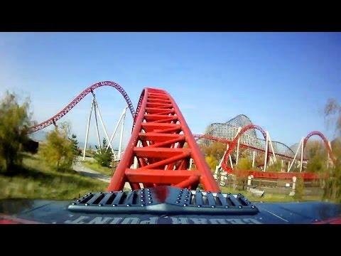 Maverick AWESOME Roller Coaster Front Seat POV 1080p HD Cedar Point Ohio