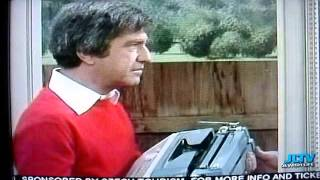 Description: Soupy Sales tries to sell a typewriter; however, he gets a pie in the face instead. This was shown on Channel JLTV on...