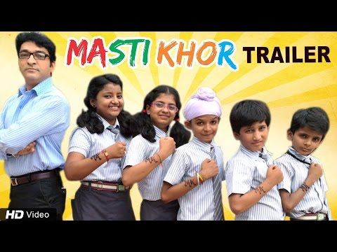 Mastikhor | Official Trailer | 2016 Gujarati Children Film | Hitu Kanodiya | Red Ribbon