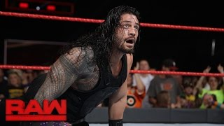 Roman Reigns vs. Chris Jericho - United States Championship Match: Raw, Jan. 2, 2017