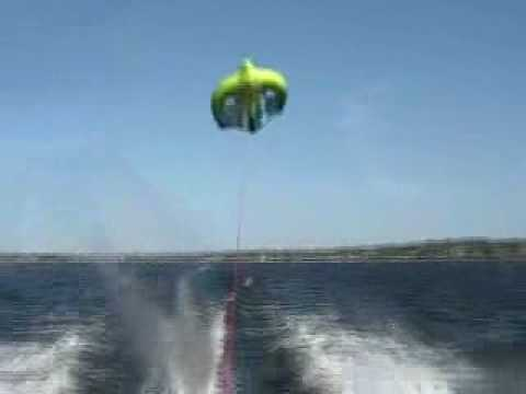 bamf - My brother, John Ryan, on a Manta Ray kite tube, flying about 30-35 feet, in the air!!! Produced by Matthew Ryan.