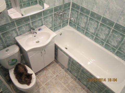 Облицовка ванной комнаты панелями пвх своими руками