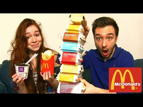 Video Dégustation McDonald's en Couple ! TOUT LES BURGERS ! BIG MAC, CHEESE BURGER , Mc FLURRY ! download in MP3, 3GP, MP4, WEBM, AVI, FLV January 2017