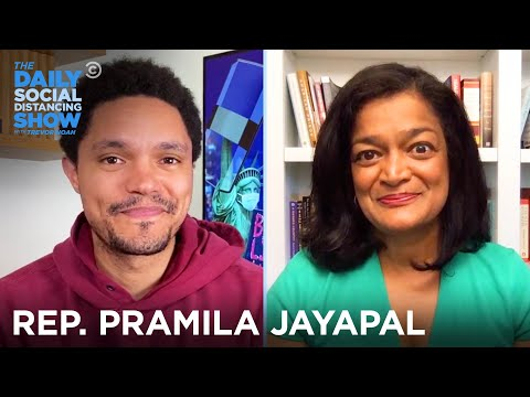 Pramila Jayapal - Political Change, Trump & The 2020 Election | The Daily Social Distancing Show