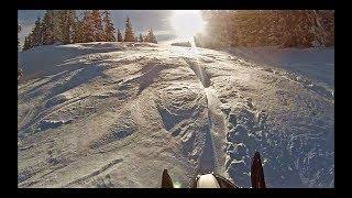 8. Arctic Cat. Nice Day. Deep Snow. Broken Belt.