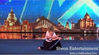 Cô bé 9 tuổi múa kiếm, nhào lộn gây sốt trong cuộc thi Britain's Got Talent