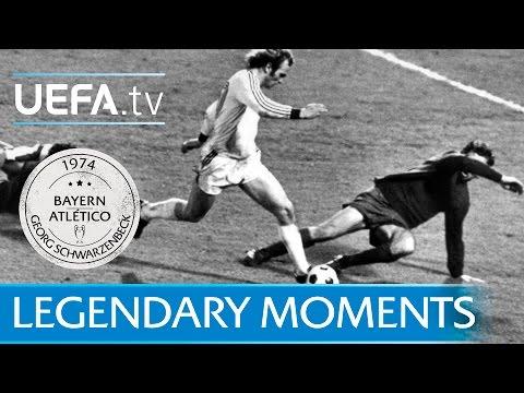 Schwarzenbeck denies Atlético (1974)