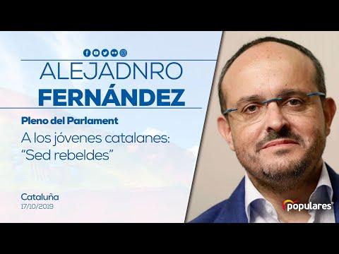 """Alejandro Fernández a los jóvenes, """"sed rebeledes"""""""