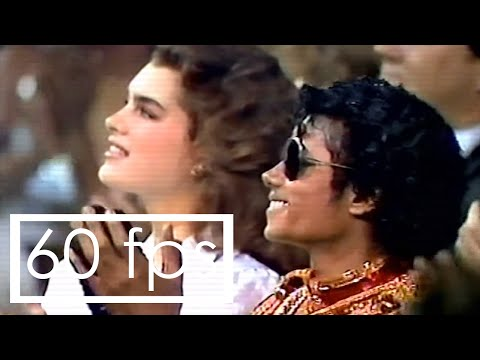[Rare clip]: Michael Jackson with Diana Ross at American Music Awards 1984 - Remastered - 60fps