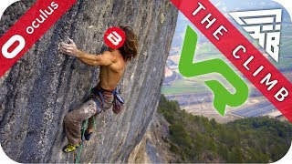 SCARED OF HEIGHTS & UP THE ALPS - THE CLIMB VR GAMEPLAY - #Sponsored by Oculus Rift Touch VR Games
