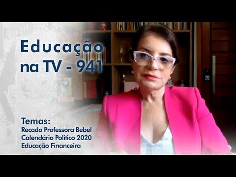 Recado Professora Bebel | Calendário Político 2020 | Educação Financeira