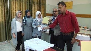 تكريم طالبات مدرسة بنات دير الغصون الثانوية لإبداعهن في الاسبوع الاولومبي الوطني