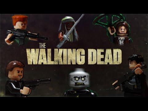 Lego Style Walking Dead Trailer