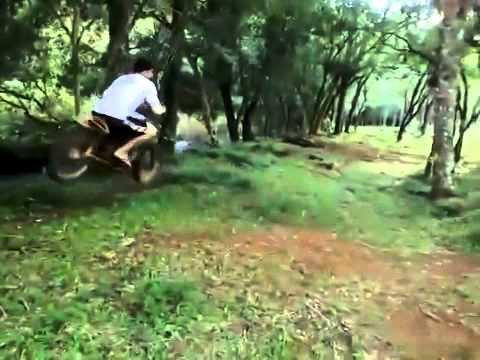 The Redneck Dirt Bike Rope Swing