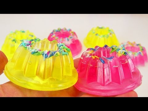 SEIFE selber machen | Süße Cupcake Donut Seifen basteln | Super als Geschenk oder Badezimmer Deko