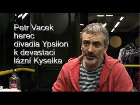 Petr Vacek hovoří o Mattoniho lázních Kyselka