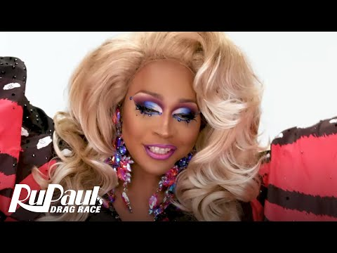 A'Keria C. Davenport's 'Caftan Look' Makeup Tutorial 💄 | RuPaul's Drag Race Season 11