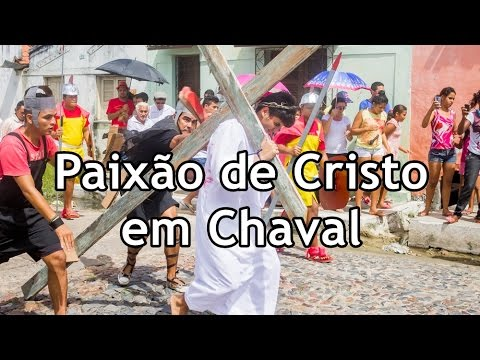Encenação da Paixão de Cristo em Chaval  | TV Chavalzada |  25-03-2016