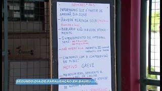 Segundo dia de greve dos servidores prejudica serviços públicos em Bauru
